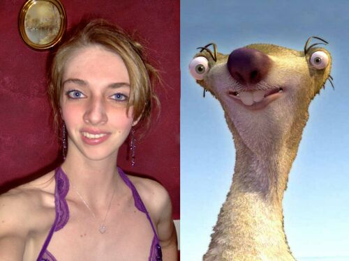 People That Look Like Sid From Ice Age